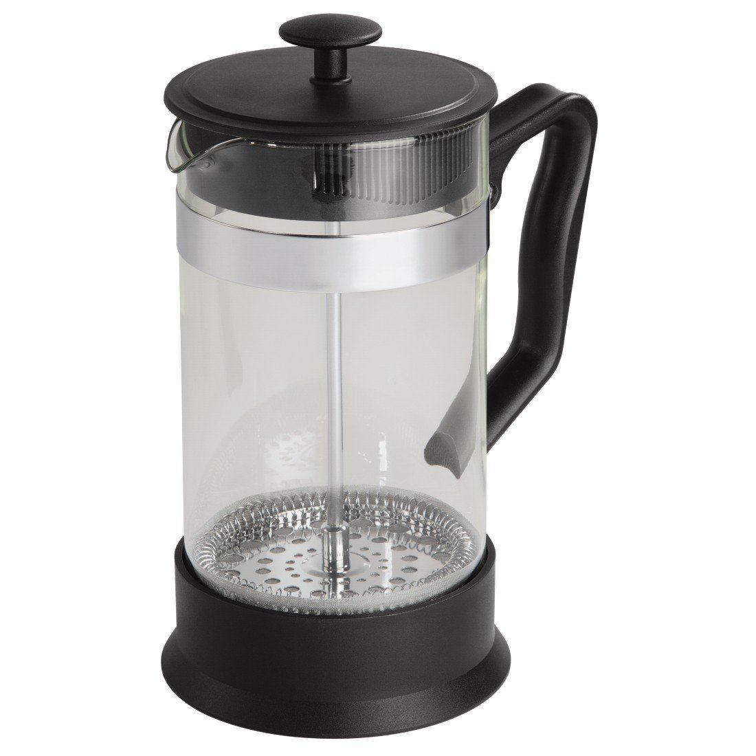 Tee-/Kaffee-Bereiter, French Press Kaffeekanne mit Sieb »Glas, 1...