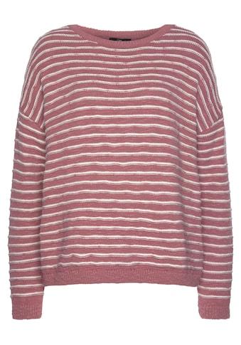 Mavi Rundhalspullover »Sweatshirt STRIPE«, im Streifen Design kaufen