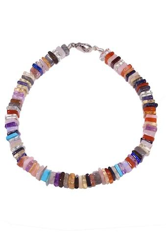 Firetti Armband »Regenbogenfarben, schimmernd, 5,5 mm breit«, mit Edelsteinen, Made in... kaufen