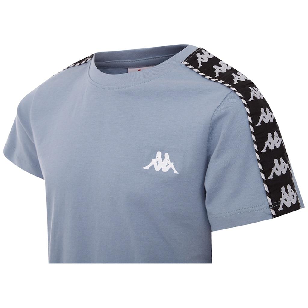 Kappa T-Shirt »ILYAS«, mit hochwertigem Jacquard Logoband an den &Auml;rmeln<br />