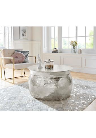Leonique Couchtisch »Melun«, in verschiedenen Größen erhältlich, aus Aluminium kaufen