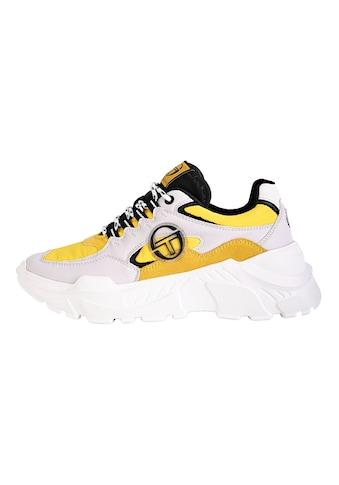 Sergio Tacchini Sneaker »Woxed Mix«, leichter Plateau-Sneaker kaufen