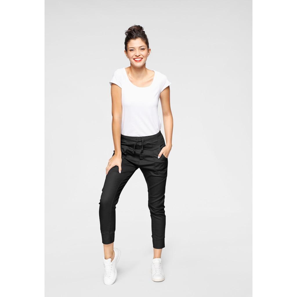 Please Jeans Jogger Pants »P 51G«, Cropped-Form mit elastischem Bündchen