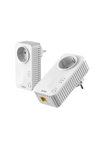 Hama Netzwerk-Adapter, 600 Mbps Set Socket kaufen