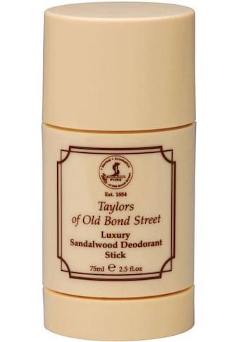 "Taylor of Old Bond Street Deo - Stift ""Deodorant Stick Sandalwood"" kaufen"