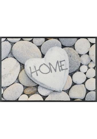 wash+dry by Kleen-Tex Fußmatte »Pebble Stones«, rechteckig, 7 mm Höhe, Fussabstreifer,... kaufen