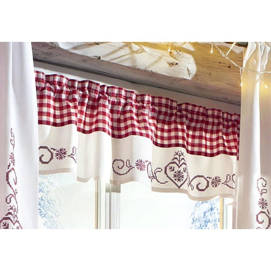 HOSSNER - ART OF HOME DECO Querbehang »Kulm«