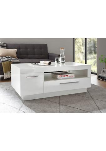 Places of Style Couchtisch »MERAN«, im modernen Design mit 1 Tür, 1 Schubkasten und 1 offenes Fach kaufen