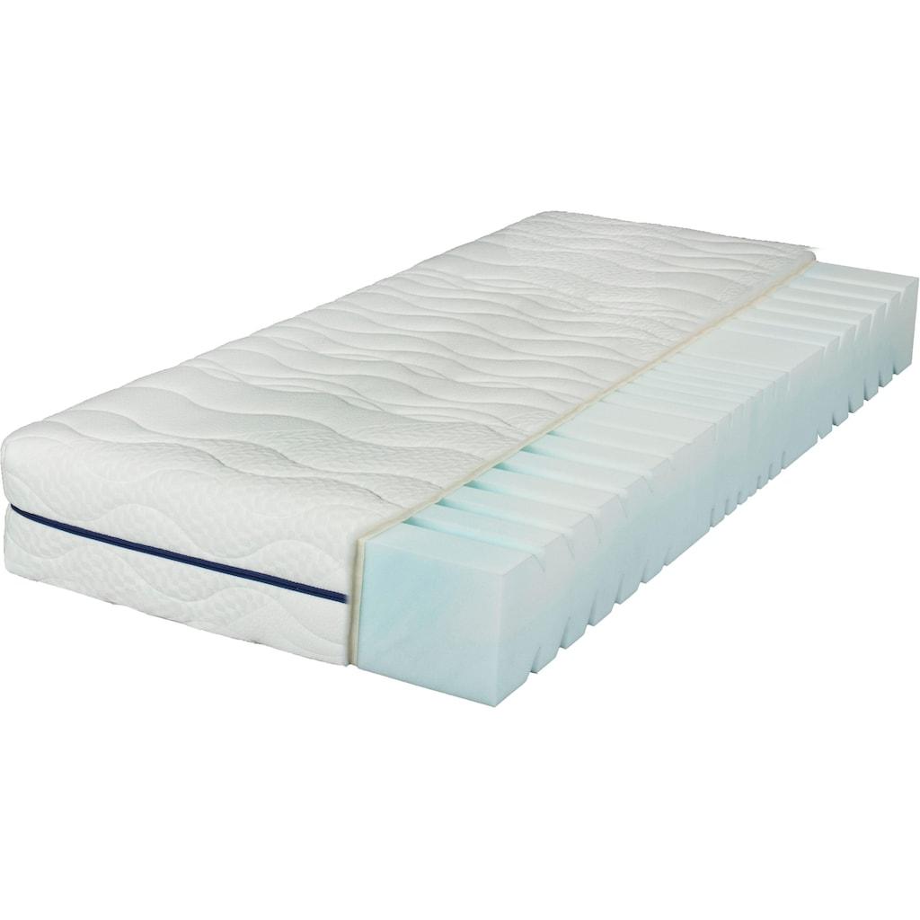 Breckle Komfortschaummatratze »EvoX 23«, (1 St.), Neuartiger, langlebiger Qualitätsschaum EvoX mit Kernschnitt, der die Wirbelsäule entlasten kann. Für einen erholsamen Schlaf!