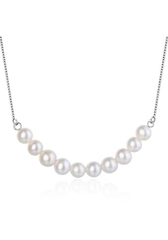 AILORIA Perlenkette »MIYAKO Halskette Silber/weiße Perle«, aus 925 Sterling Silver mit... kaufen
