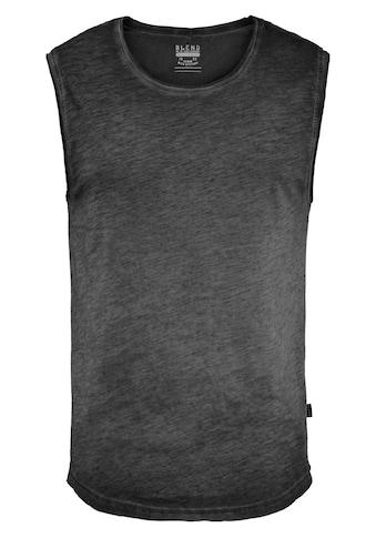 Blend Tanktop »Vino«, Ärmelloses Shirt in Cold-Dyed-Waschung kaufen