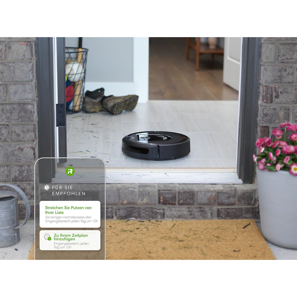 iRobot Saugroboter »Roomba i7 (i7158)«, Kompatibel mit Sprachsteuerung