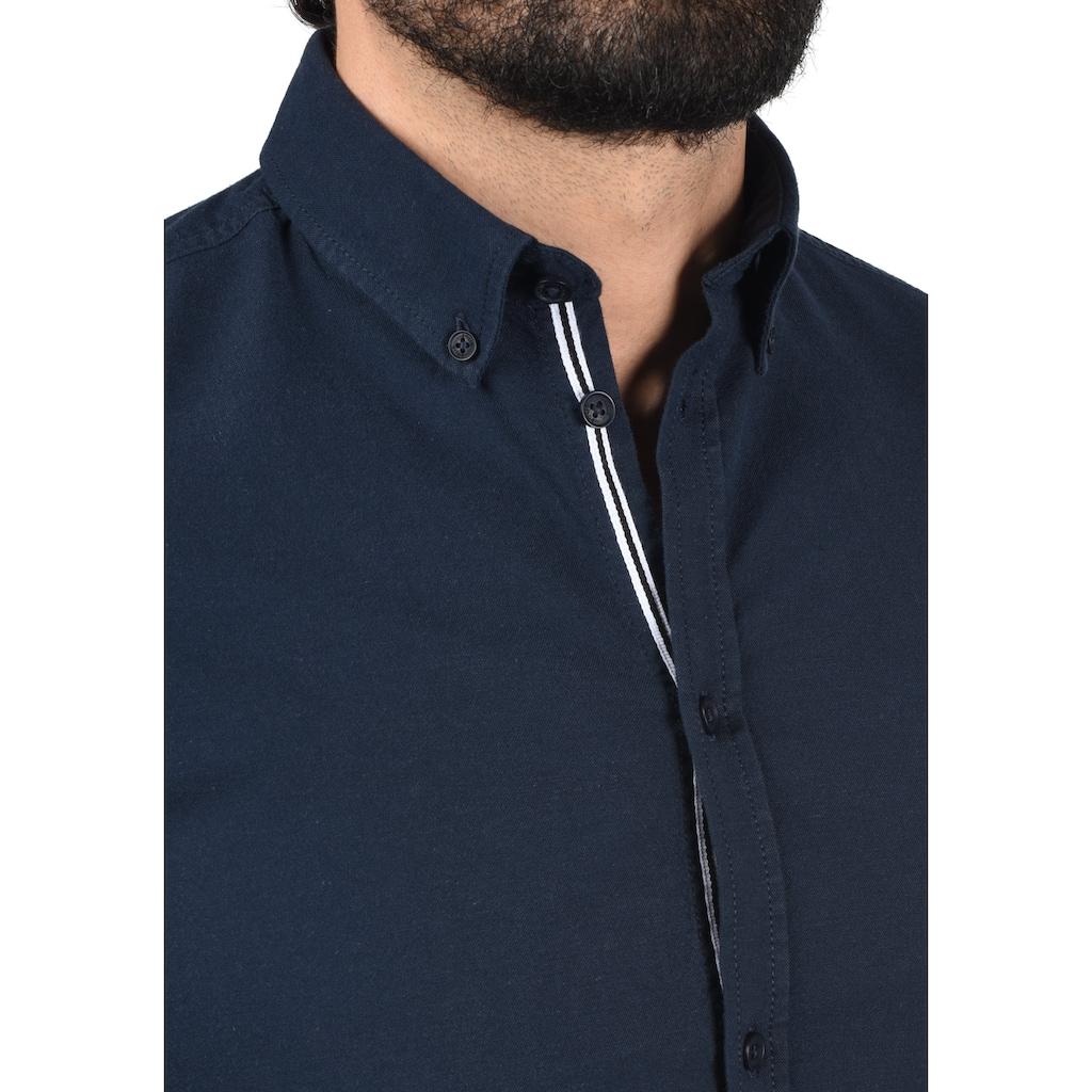 Solid Langarmhemd »Alli«, Hemd mit Knopfleiste