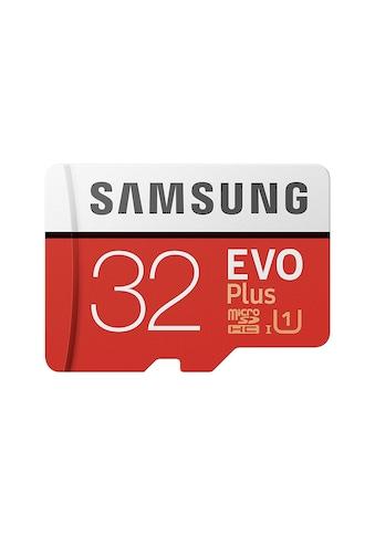 Samsung microSD EVO Plus + SD Adapter kaufen