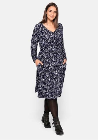 Sheego Jerseykleid, mit Wickeloptik kaufen