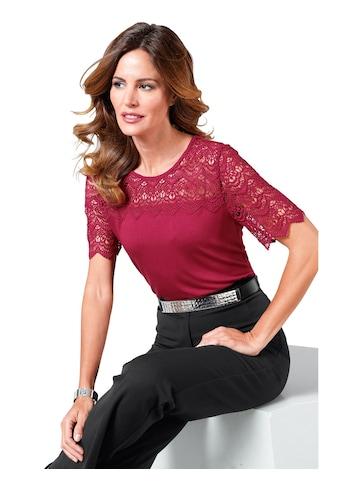 Lady Shirt mit kurzen Ärmel kaufen