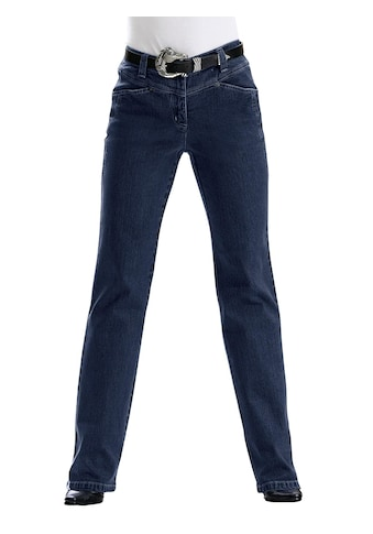 Inspirationen Jeans mit v - förmigem Sattel hinten und vorne kaufen