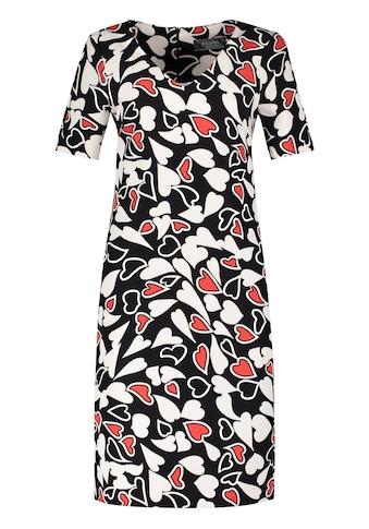 Nicowa Midi-Kleid CLEOIWA mit liebevollem Herzmuster kaufen