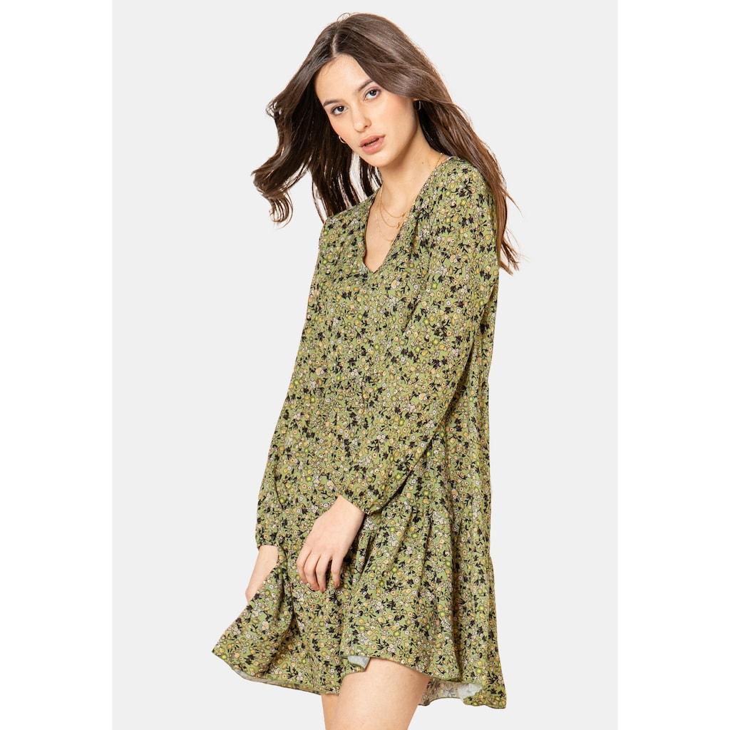SUBLEVEL A-Linien-Kleid, mit Blumenprint