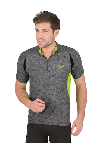 Trigema Netzshirt, in Melange-Optik kaufen