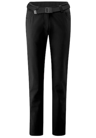 Maier Sports Funktionshose »Perlit W«, Warme, robuste Softshellhose, elastisch kaufen