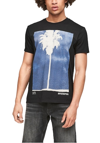 Q/S designed by T-Shirt, mit Motivprint kaufen