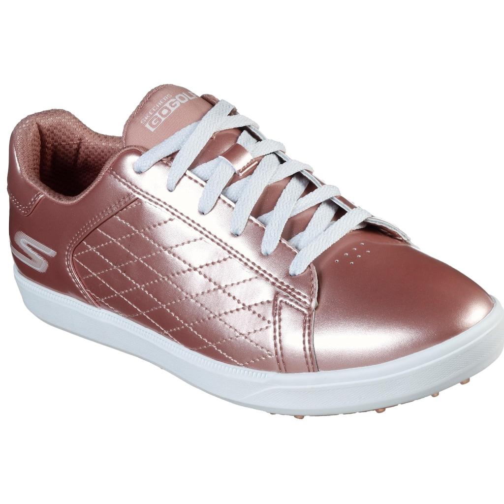 SKECHERS PERFORMANCE Fitnessschuh »Golfschuh Drive - Shine«, im trendigen Metallic-Look