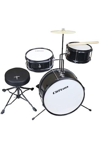 """Clifton Kinderschlagzeug """"Junior Drum, schwarz"""" (3 Stück) kaufen"""