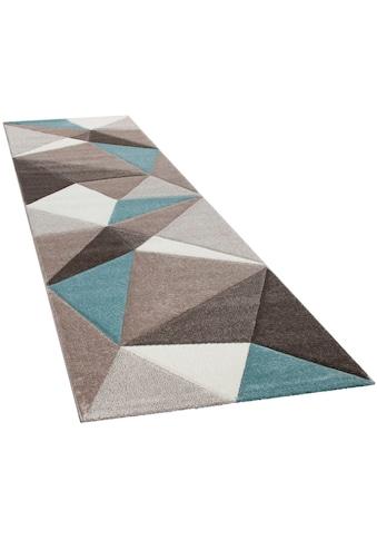 Paco Home Läufer »Lara 237«, rechteckig, 18 mm Höhe, Teppich-Läufer, Kurzflor, gewebt,... kaufen