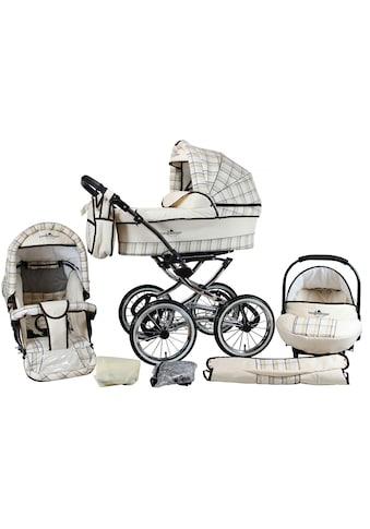 bergsteiger Kombi-Kinderwagen »Venedig, classic beige, 3in1«, 15 kg, Made in Europe;... kaufen
