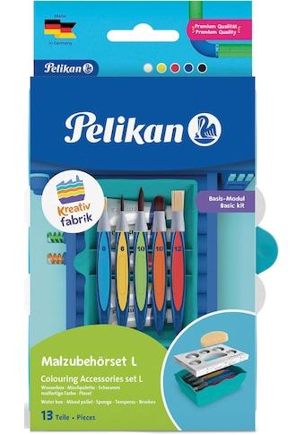 Pelikan Kreativset »Kreativfabrik - Malzubehörset L, Basis-Modul«, Made in Germany kaufen