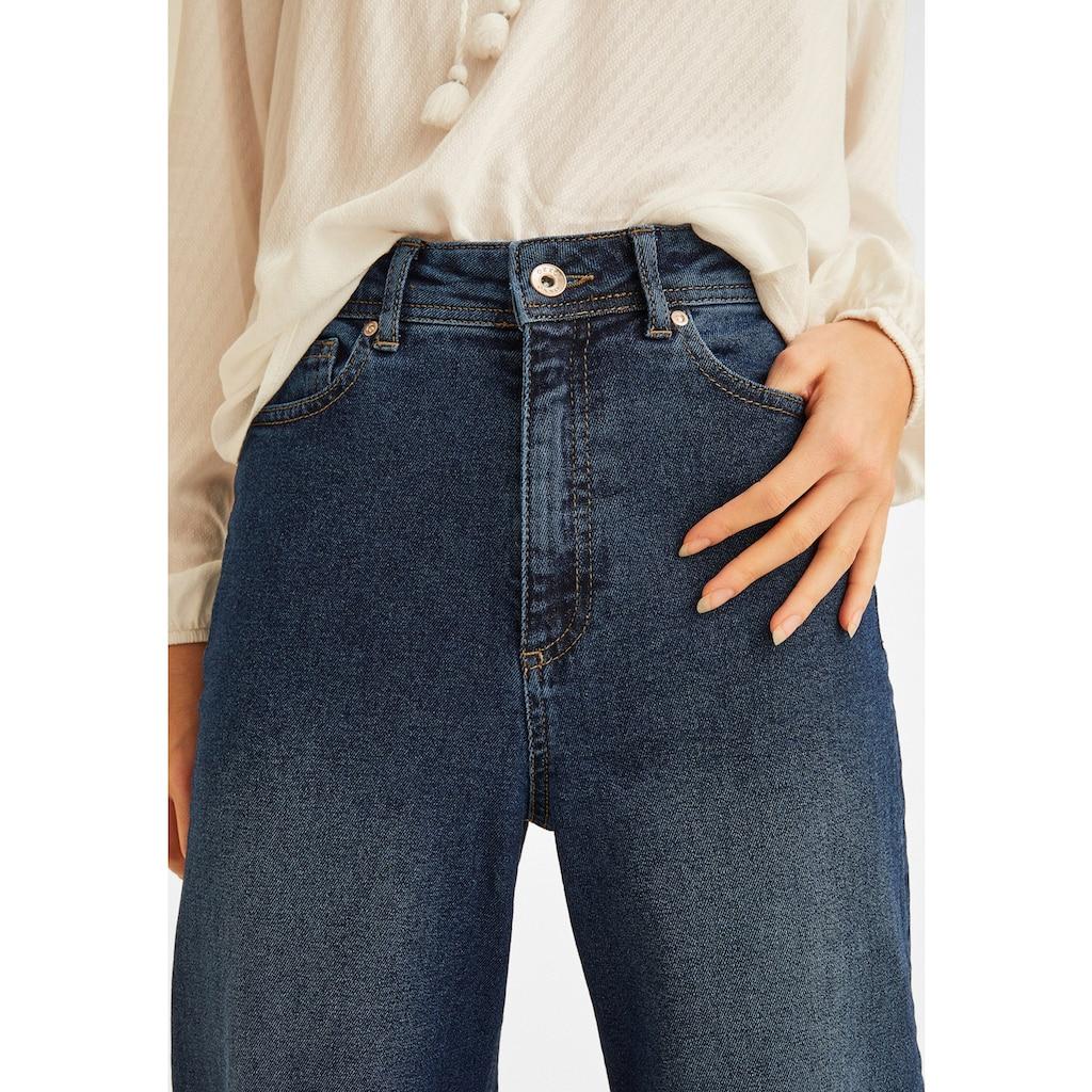 OXXO Culotte, mit hoher Taillenform