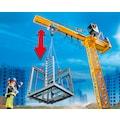 Playmobil® Konstruktions-Spielset »RC-Baukran mit Bauteil (70441), City Action«, (80 St.), Made in Germany