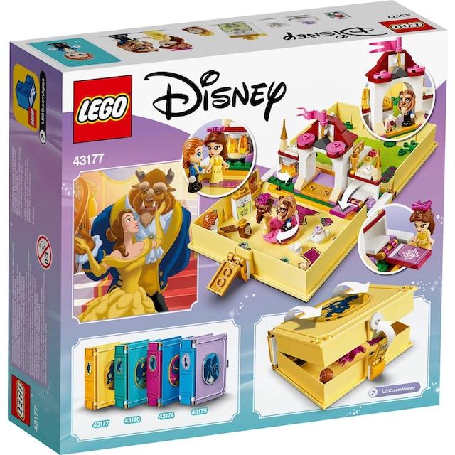 "LEGO® Konstruktionsspielsteine ""Belles Märchenbuch (43177), LEGO® Disney Princess™"", Kunststoff, (111-tlg.)"