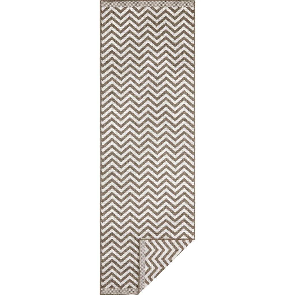 bougari Läufer »Palma«, rechteckig, 5 mm Höhe, In- und Outdoor geeignet, Wendeteppich