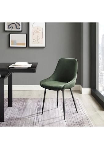 INOSIGN Esszimmerstuhl »Lennox«, 2er-Set, Sitz und Rücken gepolstert, in 3... kaufen