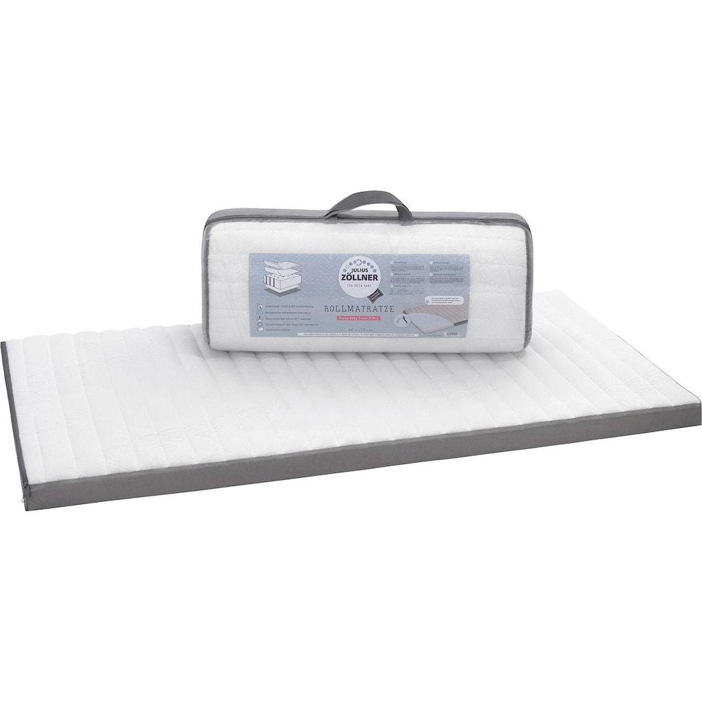Julius Zöllner Kindermatratze »Travelsoft Premium«, (1 St.), rollbare Reisebettmatr., Größe: 60x120 cm