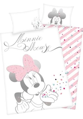 Walt Disney Babybettwäsche »Minnie Mouse«, mit Minni Mouse kaufen