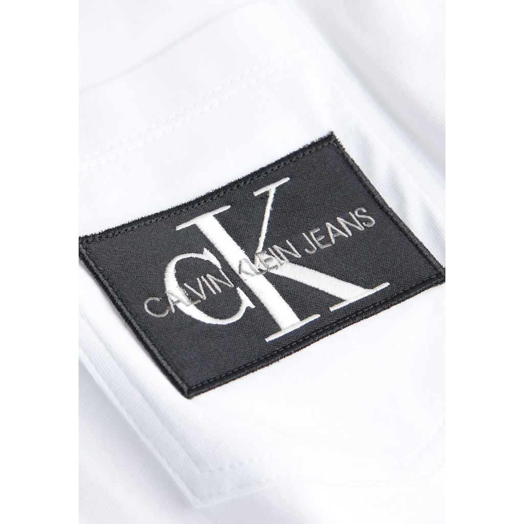 Calvin Klein Jeans T-Shirt »MONOGRAM BADGE POCKET TEE«