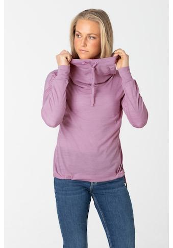 SUPER.NATURAL Kapuzensweatshirt »W FUNNEL HOODIE« kaufen