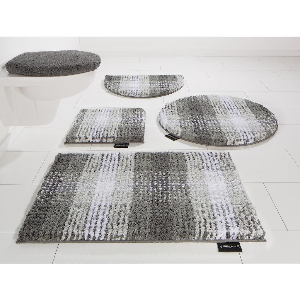 Bruno Banani Badematte »Kyros«, Höhe 25 mm, rutschhemmend beschichtet