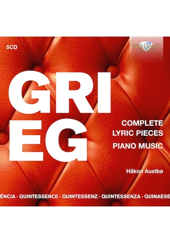 Musik-CD »Grieg:Complete Lyric Pieces,Piano Music / Austboe,Hakon« kaufen