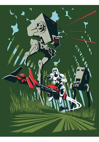 Komar Poster »Star Wars Classic Vector Endor«, Star Wars kaufen