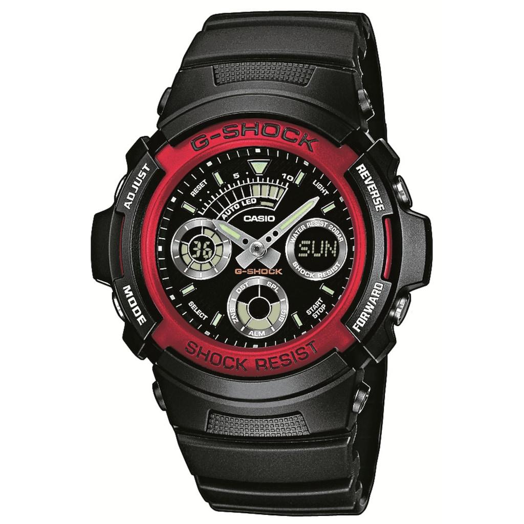 CASIO G-SHOCK Chronograph »Red Demon, AW-591-4AER«