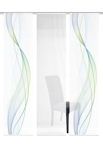 Vision S Schiebegardine »3ER SET HEIGHTS«, HxB: 260x60, Schiebevorhang 3er Set... kaufen