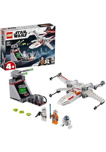 """LEGO® Konstruktionsspielsteine """"X - Wing Starfighter™ Trench Run (75235), LEGO® Star Wars™"""", Kunststoff, (132 - tlg.) kaufen"""