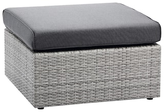 best hocker bonaire polyrattan grau inkl auflage kaufen bei otto. Black Bedroom Furniture Sets. Home Design Ideas
