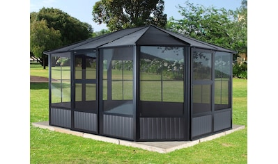 Sojag Pavillon »Charleston«, (Set), BxT: 384x384 cm kaufen