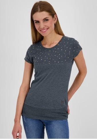 Alife & Kickin T-Shirt »CoraAK«, feminines Shirt im Mustermix kaufen