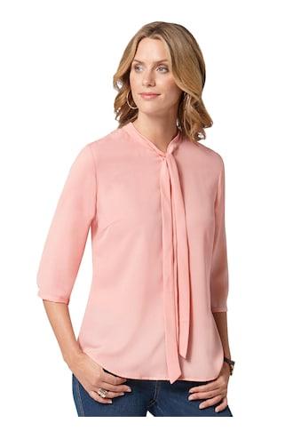 Ambria Bluse mit Schluppe am modischen Kragen kaufen